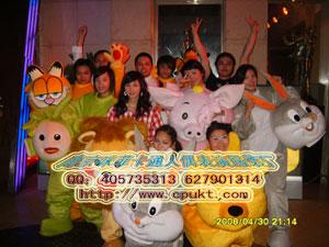 供应太原武汉卡通服装,人偶服装,迪士尼动漫服装,卡通动物服装
