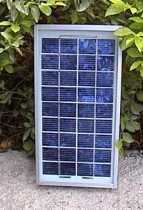 5W多晶硅太阳能电池层压板