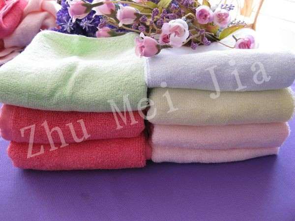竹纤维 女士纯竹毛巾 面巾
