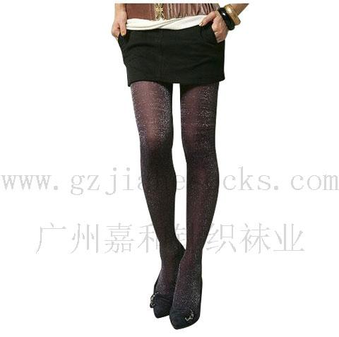 广州袜业公司 閃光絹の靴下 闪光丝袜