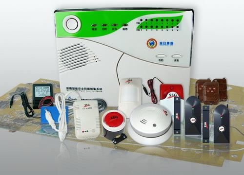 豪爵普通GSM型防盗报警系统