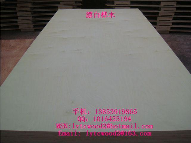 新天财供应CARB P2漂白杨木/桦木橱柜专用多层板