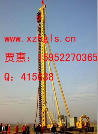 CFG长螺旋桩机20 30米钻机