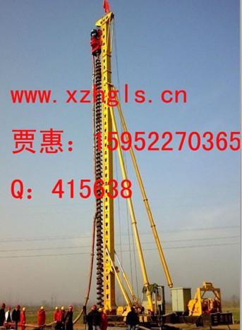 23米螺旋钻机 23米长螺旋打桩机