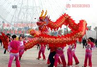 批发绸缎布龙/南龙/北龙/民间工艺品龙灯/舞台道具/渔翁道具