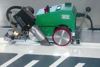 LEISTER瑞士PVC广告布/汽车蓬布热合并接机(迪涛)
