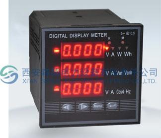 多功能电力仪表DMX308C西安森德电力 029-68809263 88252662