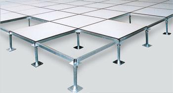 供应新疆防静电地板|全钢高架抗静电地板