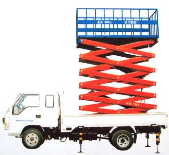 供应SJYC剪叉式升降机,升降车,汽车式升降机