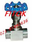 美国FITOK承插焊式截止阀 FJ61W型高温高压承插焊针型阀