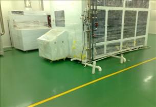 环氧绿色地坪漆|环氧地面漆施工|环氧防尘地板厂家|深圳环氧树脂地