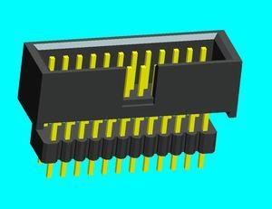 线对板连接器、板对板连接器、线对线连接器、SATA连接器、