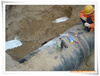 阴极保护聚丙烯纤维防腐胶带 阴极保护PE保护膜片 管道防腐胶带