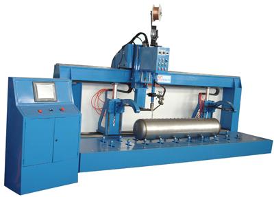 自动化直缝焊机
