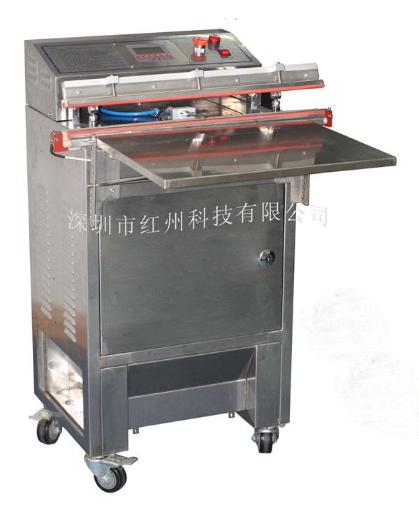 洁净室外抽式食品真空充氮包装机