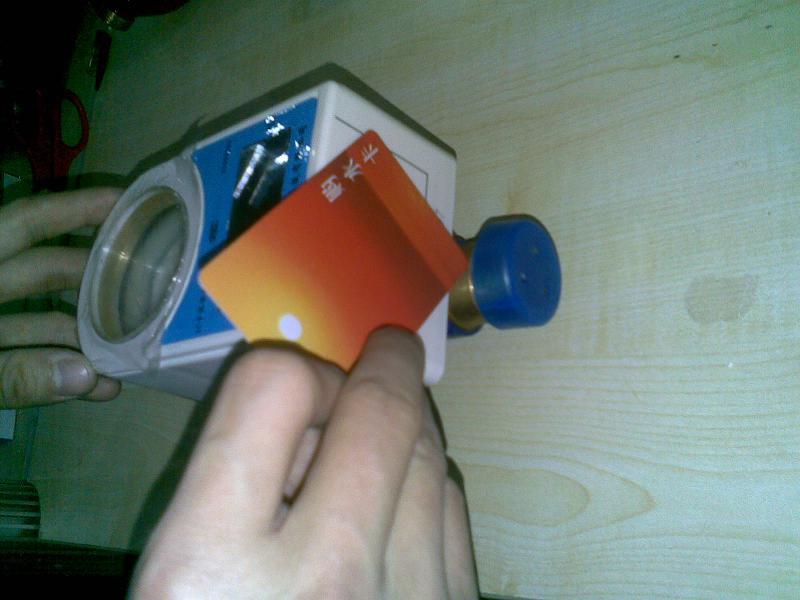 射频卡IC卡水表 非接触式IC卡水表 刷卡式水表