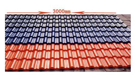民用住宅屋面改造凡美合成树脂瓦