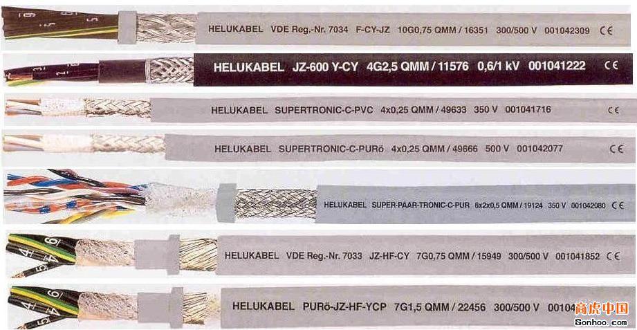 SUPERTRONIC-PVC 拖链专用,标准型高柔性数据传输电