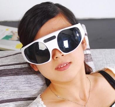 供应新款连体式墨色眼保姆仪眼护士 眼部按摩器