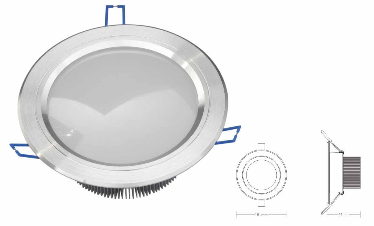 LED面板筒灯