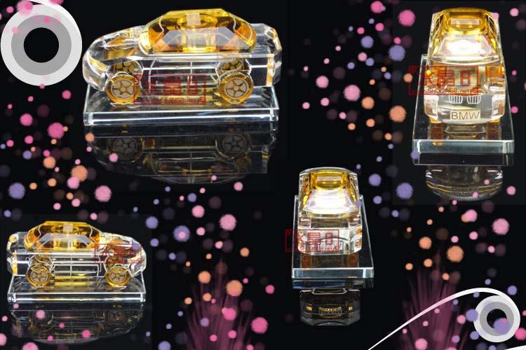 茶色汽车水晶香水瓶