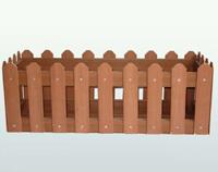 园林花箱 实木花箱 樟木花槽 合成木花槽
