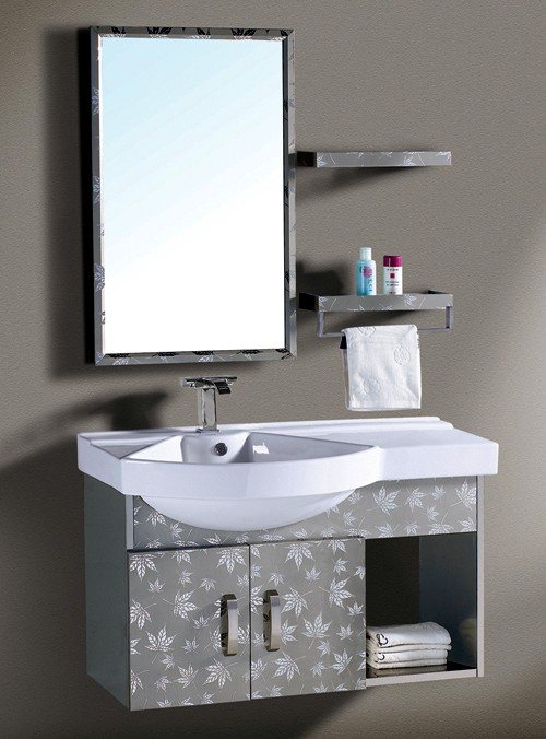 加工枫叶纹不锈钢卫浴柜门,彩色不锈钢装饰板
