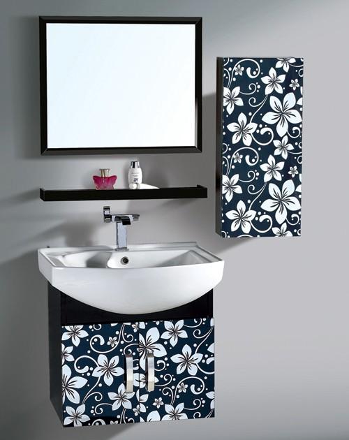 钛航生产高档宝石蓝不锈钢镜面板,不锈钢蚀刻紫荆花装饰板,美观大方