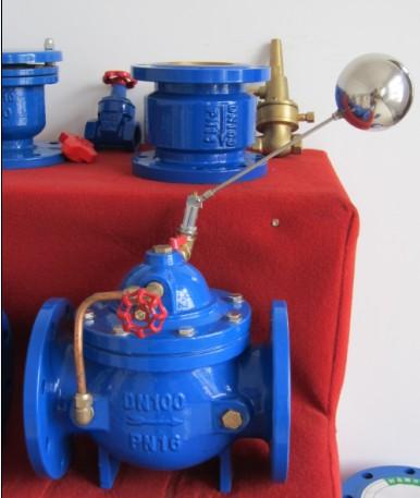 活塞式液压水位控制阀