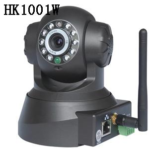 远程监控 无线网络摄像机 旋转云台IP摄像头 有线网络摄像机 IP摄像机HK1001W