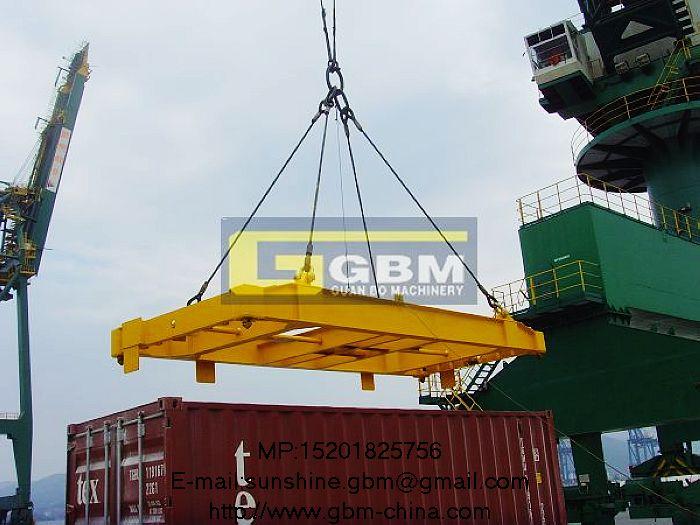 Ksp Gantry Crane : Hydraulic rotation container spr