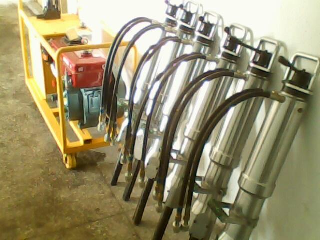 柴油型力臣液压劈裂机使用方便