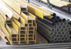 拉挤玻璃钢型材,方管,矩形管,圆管,棒材,槽材,工字材,板材