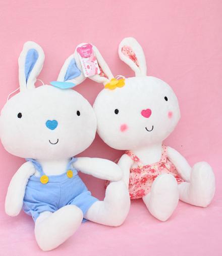 玩具招商/玩具加盟/毛绒玩具招商/情侣兔