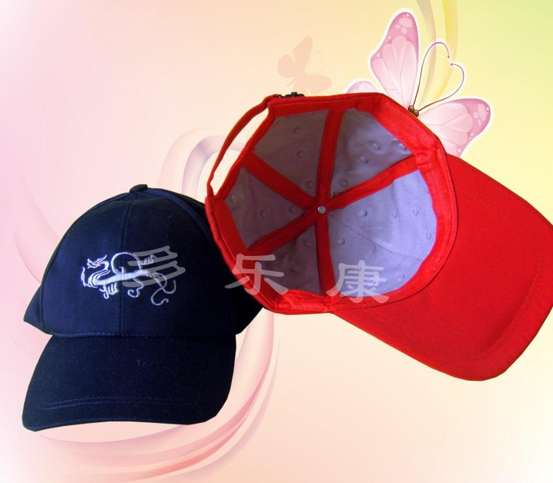 供应远红外磁石棒球帽 批发生产帽子 厂家加工帽子 推荐产品帽子