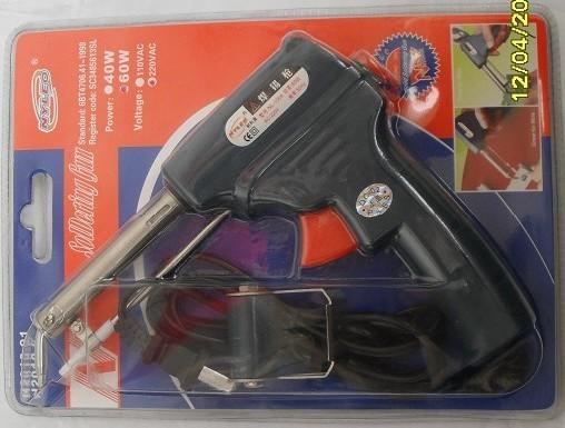 40W手动焊锡枪,手动送锡枪