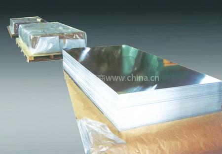 无指纹316不锈钢镜面板/环保贴膜304不锈钢拉丝板