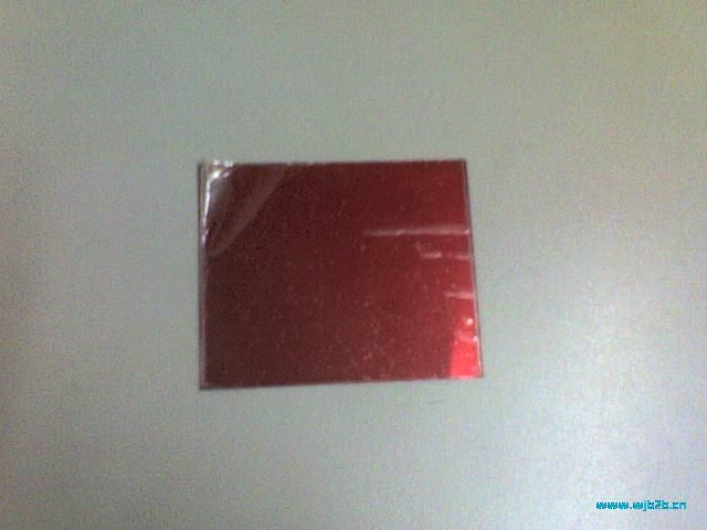 经典中国红不锈钢镜面板