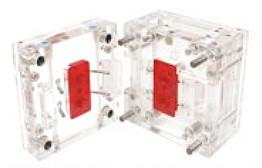 斜导柱模透明注塑模