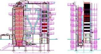 供应宝成QXF型系列循环流化床热水锅炉