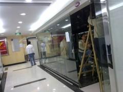 专业安装玻璃门门夹子 玻璃门地锁北京