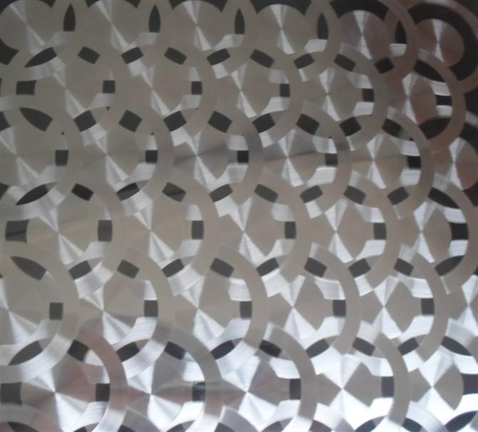 超低价销售六角花不锈钢镭射板,装饰效果好