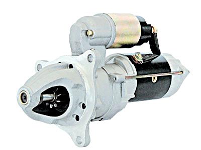 五十铃搅拌车10PE1起动机发电机