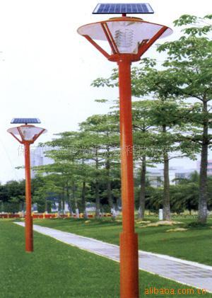 太阳能庭院灯可广泛用于;家庭别墅