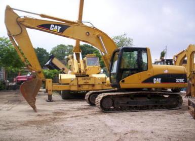 卡特二手挖掘机
