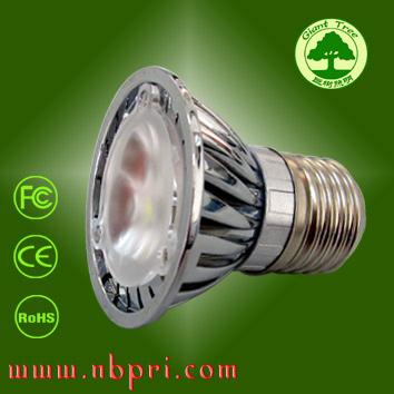 现货热销大功率LED射灯 杯灯 聚光灯 3.5-3.7w 通过CE FCC ROHS认证 巨树照明