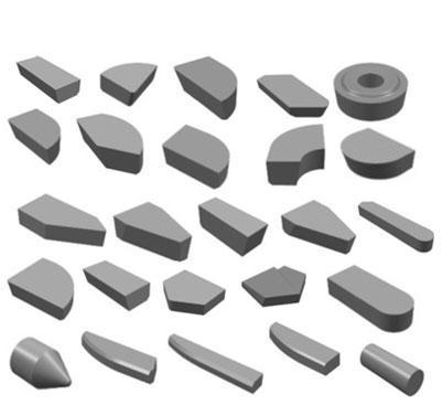 株洲钻石YT798 A320焊接刀片 合金刀头
