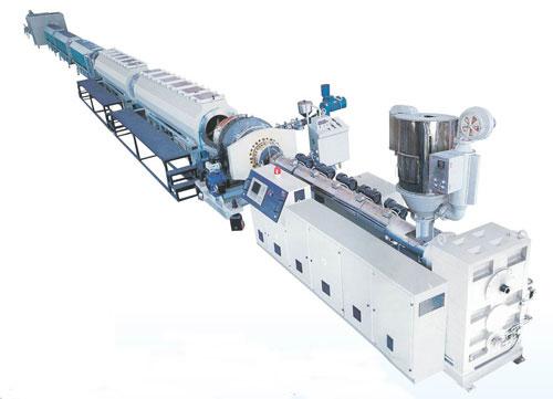 塑料机械-HDPE硅芯管生产线