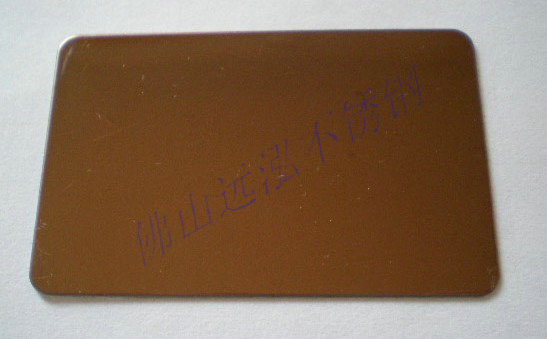 彩色不锈钢玫瑰红镜面板