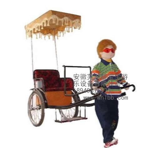 机器人拉车喜羊羊机器人拉车动物机器人拉车机器人拉黄包车机器人蹬车